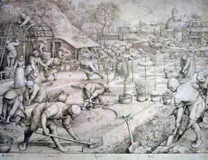 Fig.10. Pieter Bruegel l'Ancien (1526/1530–1569), L'Été, 1568, (22 × 28,6 cm) Hambourg