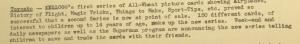Fig. 160 - J.W.T. Weekly News, 24 juin 1946.  Source : J. Walter Thompson Company. Newsletter collection, 1910-2005. Box MN9 (1945-1950). Pour sa campagne canadienne (Toronto), la compagnie  Kellogg sait jouer sur la fascination des enfants pour l'aviation militaire et l'imaginaire qui l'entoure.