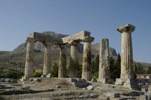 Ruines de Corinthe