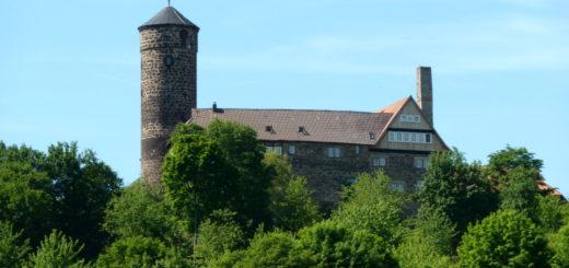 Blick auf Burg Ludwigstein
