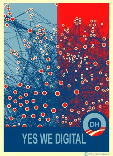 """La visualisation très réussie de ma proposition de titre pour le manifeste """"Yes We Digital"""""""