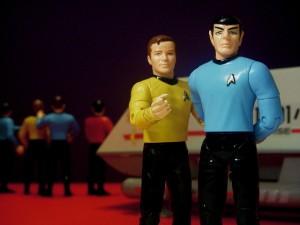 Kirk & Spock