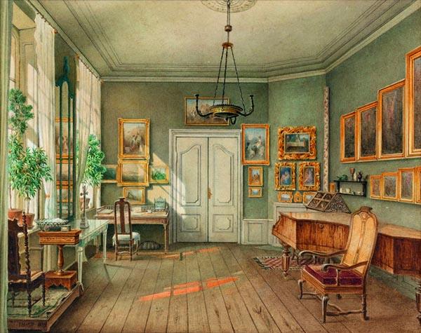 Int rieurs romantiques mus e de la vie romantique for Interieur 19eme siecle