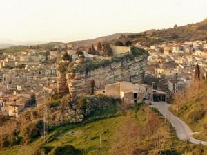 Corleone, place forte du clan des Corleonesi (photographie de T.Bonaventura et A.Imbriaco).