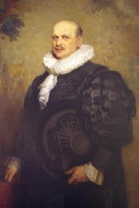 Im Bild: Gemälde von Johannes August Lattmann im besitz der Hamburgischer Vertretung in berlin, Foto Anton F. Guhl