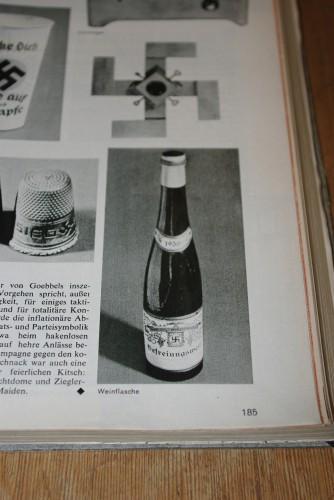 """Historische Vorlage für den Hitler Wein? Blick in """"Der Spiegel"""", 1975. Nr. 41, S. 185"""