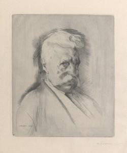 1915 raddierte Franz Nölken Edmund Siemers