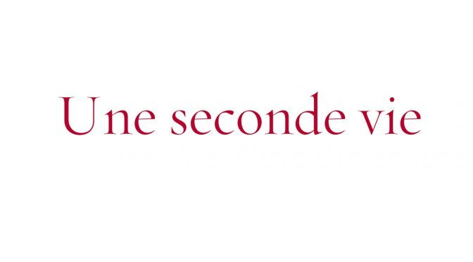 "Parutions : ""Une seconde vie"", Grasset, 2017新书出版:《第二人生》"