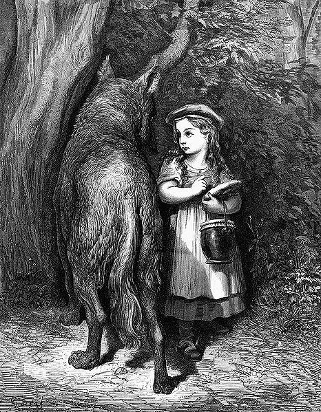 Copyright Gustave Doré, Les Contes de Perrault, J. Hetzel, 1864.