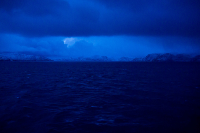 Blue Light of the Polar Night
