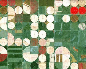 Photo de cercles de cultures prise par la NASA.