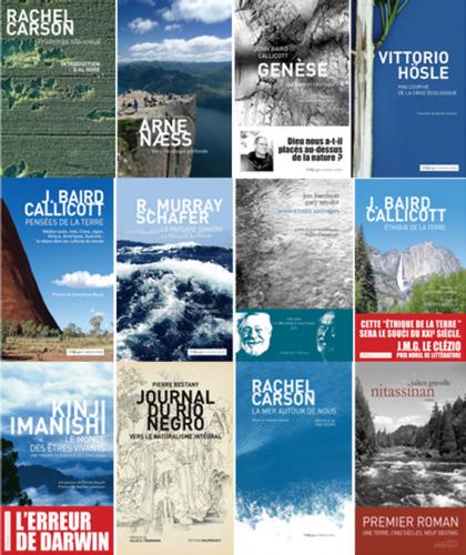 Une sélection des titres publiés aux Éditions Wildproject.