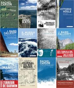 Quelques-uns des titres des Éditions Wildproject.