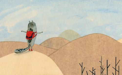 Visuel de l'ouvrage <em> La Bête et les petits poissons qui se ressemblent beaucoup </em>