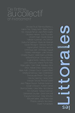 Couverture du recueil de textes Les Littorales, Marseille, De l'intime au collectif, éditions le Bec en l'air.