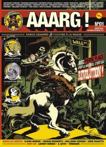 Couverture du premier numéro de Aaarg!