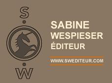 Logo des éditions Sabine Wespieser représentant une licorne dans un cercle