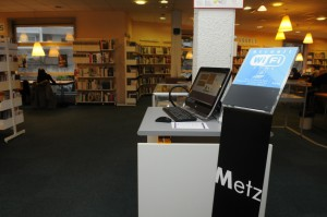 À Metz, les bibliothèques ont choisi la gratuité des inscriptions.   © Ville de Metz