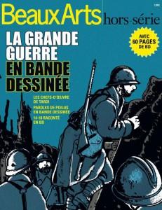 Magazine Beaux Arts, hors-série avril 2014, La grande guerre en bd