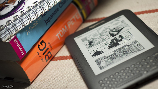 Kindle 3 , Kodomut.com, 2010