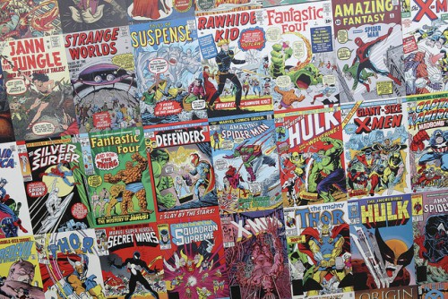 Comic Books, de Sam Howzit, 2012, Licence CC BY