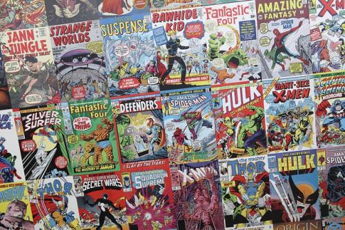 Comic Books, de Sam Howzit, 2012, Licence CC BY