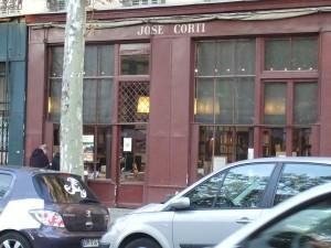Devanture Librairie José Corti