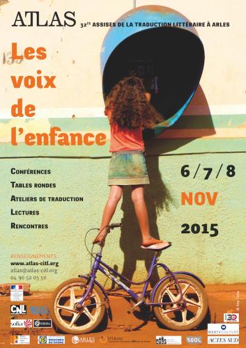 Affiche des 32es Assises de la traduction littéraire