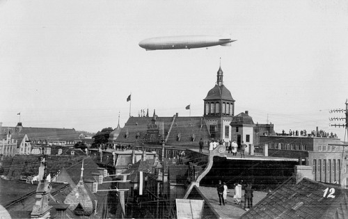 Zeppelin, photo de 1929