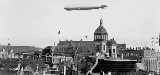 Zeppelin, photo de 1929