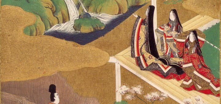 "Tosa Mitsuoki, Illustration du Dit du Genji, ch. 5 (""Wakamurasaki"")"