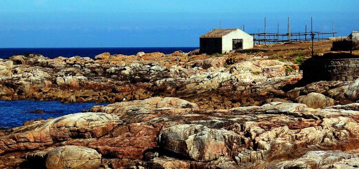 Paysage rocheux près de Muxia, en Galice