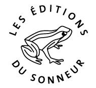 Logo des Éditions du Sonneur. Crédits : Les Éditions du Sonneur (http://www.editionsdusonneur.com)