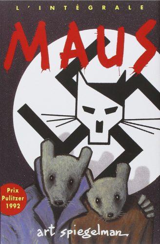 Couverture de Maus, Art SPIEGELMAN, Flammarion, 1998.