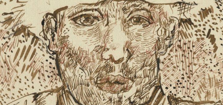 Couverture du brouillard d'Arles, carnet retrouvé, Vincent Van Gogh, Bogomila Welsh-Ovcharov, Le Seuil, 2016.