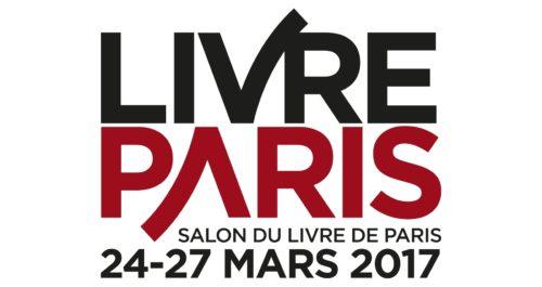 Logo du Salon du livre de Paris, Salon du livre de Paris, 24-27 mars 2017.
