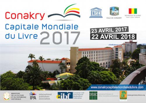 Visuel de l'évènement Conakry: Capitale Mondiale du Livre 2017