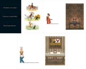 Montage des doubles pages de Chacun son tour, Que font les petits garçons aujourd'hui? et Que font les petites filles aujourd'hui?