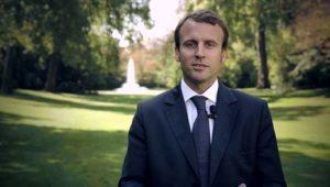 Portrait d'Emmanuel Macron