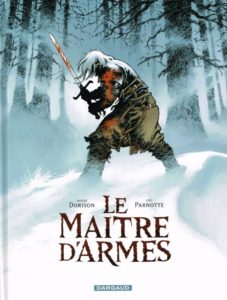 Couverture de la bande dessinée Le Maître d'armes.