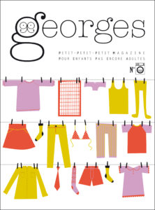 Couverture du magazine Georges, n° Machine à laver, Maison Georges, septembre 2012.