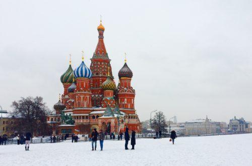 Photographie de la cathédrale Saint-Basile-le-Bienheureux de Moscou. Source : Pixabay, CC0.