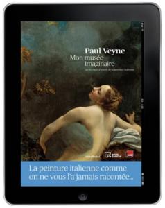 Couverture ePub3 Mon musée imaginaire de Paul Veyne © Albin Michel