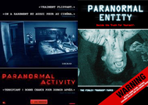 Paranormal Activity et son mockbuster : Paranormal Entity