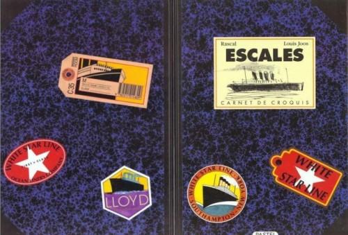 Fig.3 : couverture d'Escales de Rascal et Joos