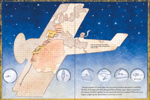 Figure 10 : Le Pilote et le Petit Prince (2014), p.18-19.