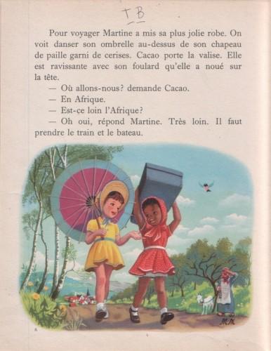 Ill. 3: Martine en voyage (1954), p.6-7.