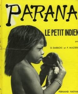 Ill.7: Couverture de Parana, le petit indien (1953)