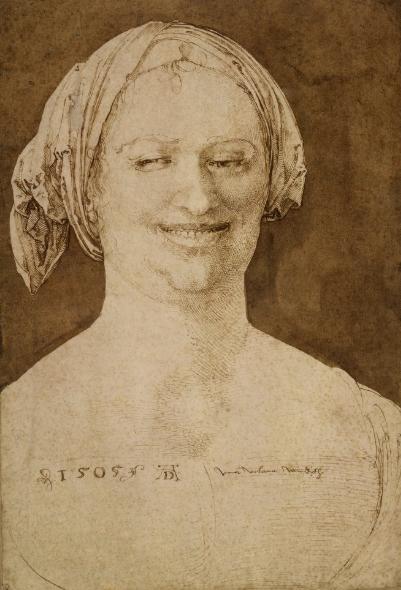 """Albrecht Dürer, """"Una vilana Windisch"""", 1505, Londres, British Museum."""