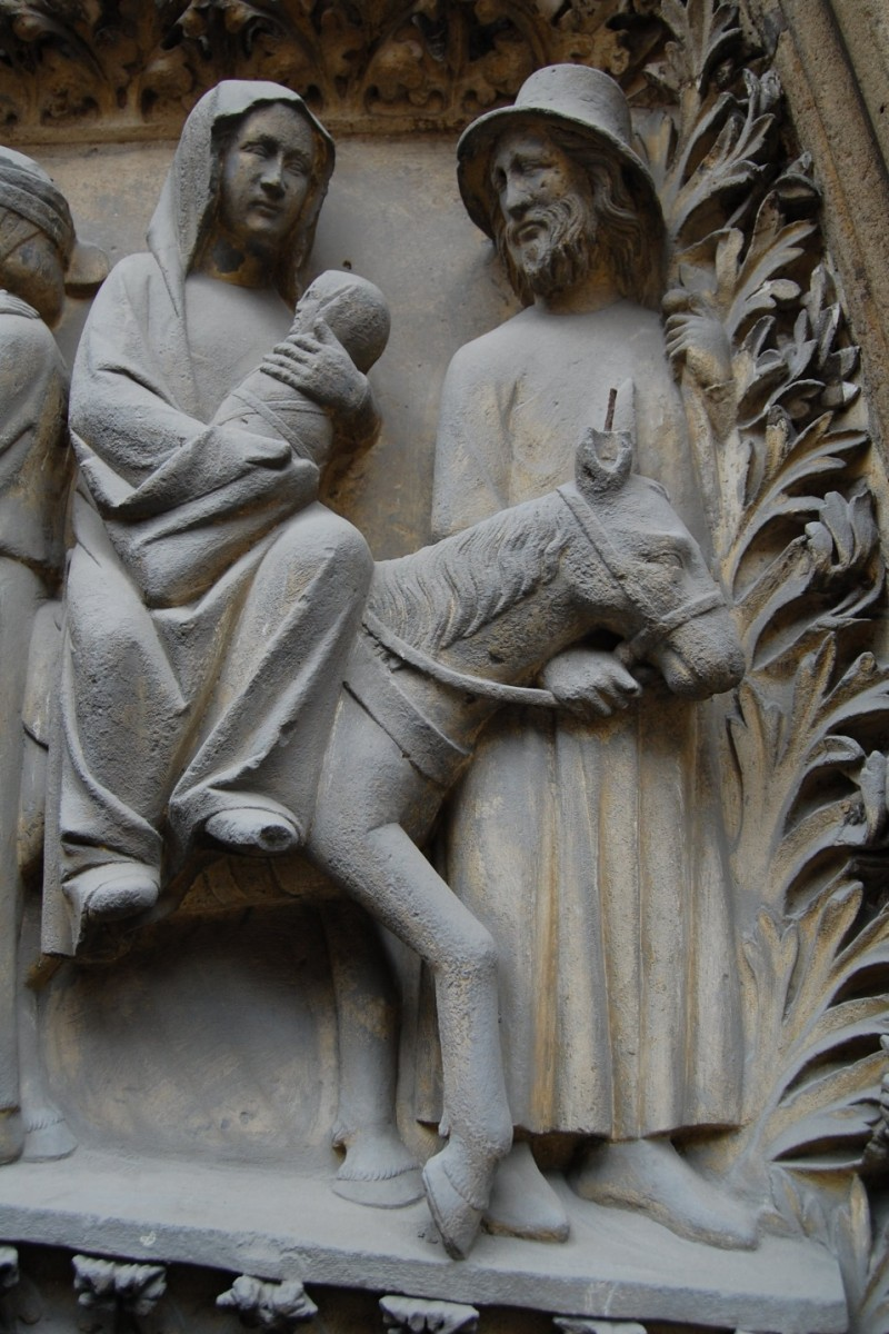 The flight from egypt